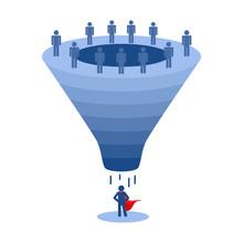 Recruitment Funnel, Applicant Selection Vector