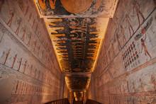 Valley Of Kings, Luxor, Egypt, Pharaoh  Tomb, Hieroglyphs, Frescoes