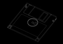 Floppy Disk Architect Blueprint