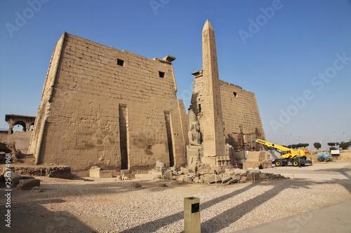 Wall Murals Place of worship Luxor temple, Luxor, Egypt, Pharaoh, Nile, Hieroglyphs, Frescoes