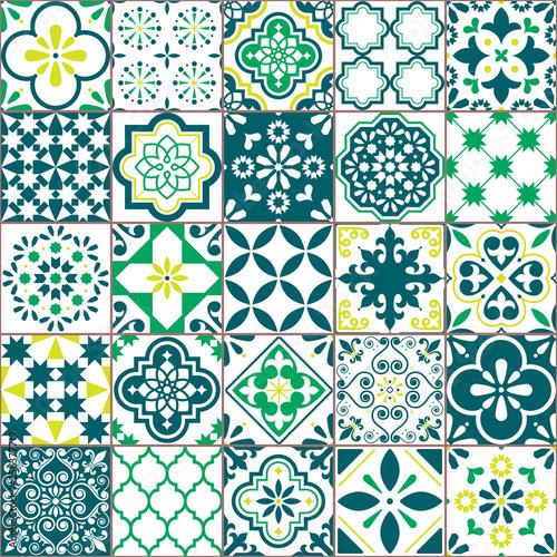 tile-vector-pattern-azulejo-lisbon-retro-old-tiles-mosaic-portuguese-seamless-green-des