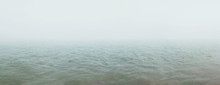 Fog Over The River. Natural Ba...