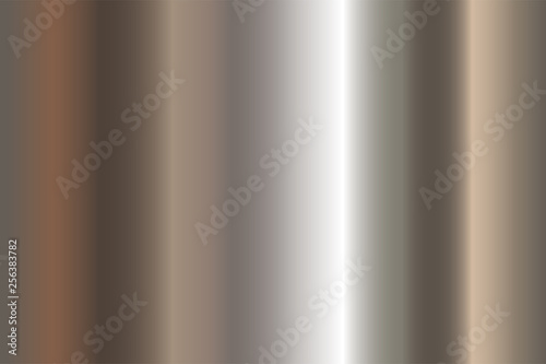 Photo  Seamless shiny metal gradient texture
