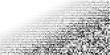 Halftone pattern background.