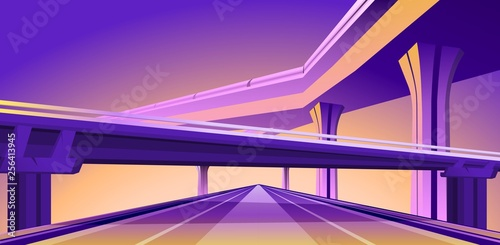 overpass viaduct bridge Fototapeta
