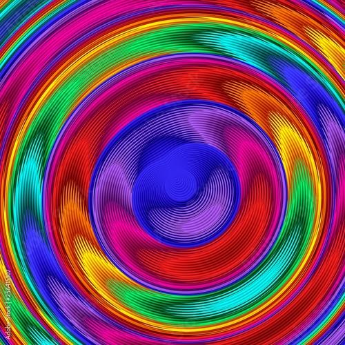 Bright colorful abstract li...