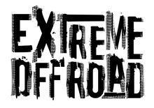 Offroad Extreme Lettering