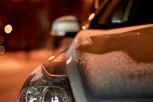 Detail Photo Of Headlights Of ...