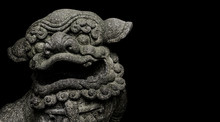 Chinese Style Antique Lion Scu...