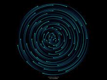 Abstract Orbits Circle Ring Mo...