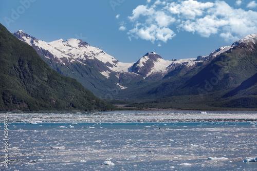 Fototapeta Icy water at the Hubbard Glacier
