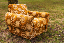 Abandoned Armchair Outdoor On ...