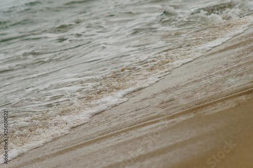 Fototapeta Atlantic Ocean at daytime, giving strength and energy. obraz na płótnie