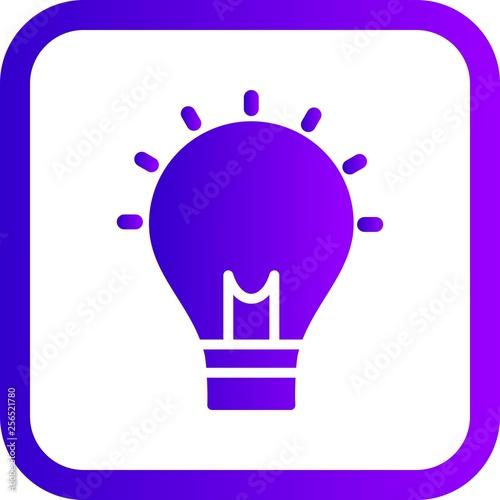 Fototapety, obrazy: Illustration  Idea Icon