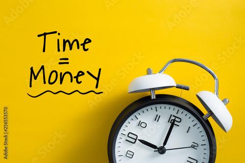 Obraz Time is money concept - fototapety do salonu