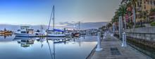 Sunrise Over The Boats In Espl...