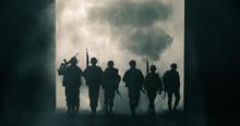 Silhouette Thai Soldiers Speci...