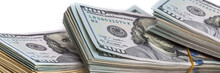 Banknotes Of Dollars In Packs....