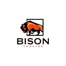 Bison Logo Templates