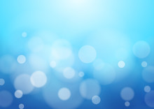 Abstract Blue Background, Vect...