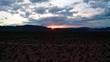 Beautiful Sunrise over the mountains in Last Vegas