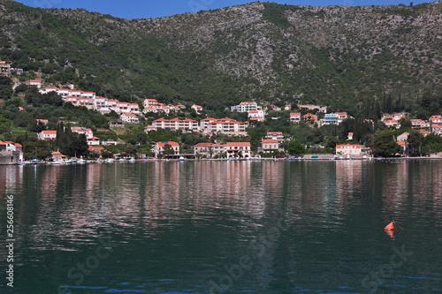 Printed kitchen splashbacks City on the water Croatia, Adriatic Sea, Dalmatia, Balkans