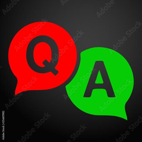 Photo Question answer icon