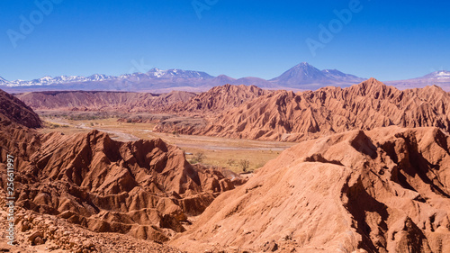 Canvastavla View of the San Pedro River in San Pedro de Atacama, Atacama Desert