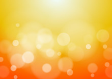 Abstract Orange Background, Ve...