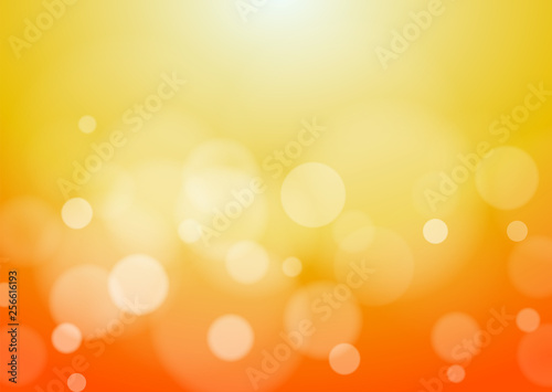 Abstract Orange Background, Vector Graphic Wallpaper Mural