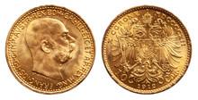 Austria 10 Kroner Gold Coin 1915