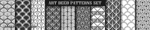Photo Art Deco Patterns set collection
