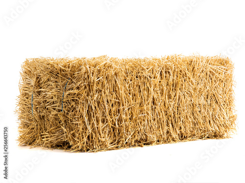 Fotografie, Obraz dry haystack isolated