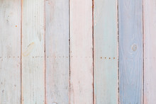 Pastel Toned Wooden Background...