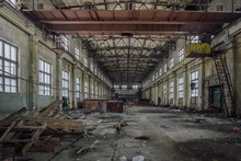 Abandoned Industrial Building ...