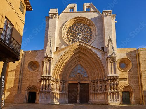 Fotografía  Tarragona Cathedral basilica in Catalonia