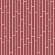 Pink And Red Geometric Square Seamless Vector Pattern