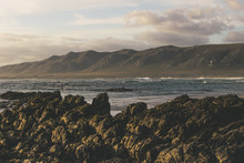 Rocks And Mountains Seascape D...