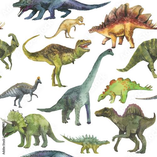 recznie-rysowane-wzor-z-dinozaura-realistyczny-wzor-dino-dzieci-chlopiec-tapeta-tlo