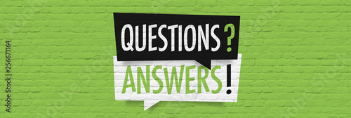 Questions answers Wallpaper Mural