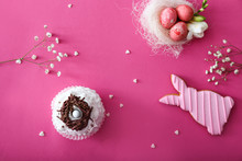 Tasty Easter Cupcake With Cook...