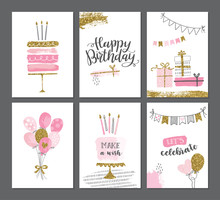 Happy Birthday Greeting Card A...