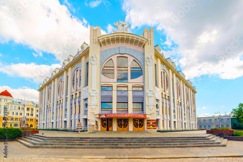 Photo  The Samara State Philharmonic is a state cultural institution of Samara's urban district, founded on April 5, 1940