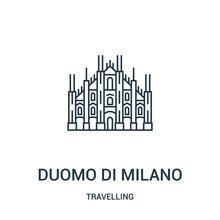 Duomo Di Milano Icon Vector Fr...