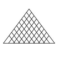 Louvre Pyramid Flat Illustrati...