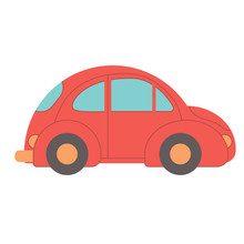 Car Beetle Flat Illustration O...