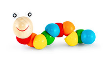 Colorful Wooden Caterpillar To...