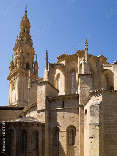 Fotografía  Vistas de la Catedral de Santo Domingo de la Calzada, en  La Rioja verano de 201