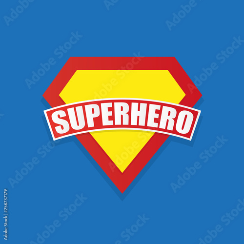 Fotografie, Tablou  Super hero power graphics, vector