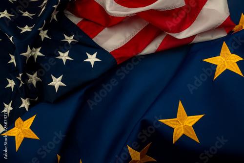 Fotografie, Obraz  TTIP, USA and EU cooperation and Transatlantic Trade and Investment Partnership